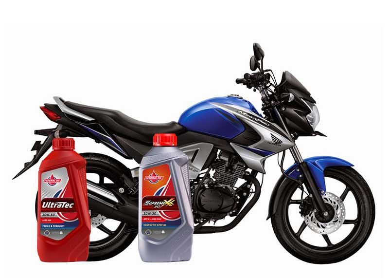 Rekomendasi Oli Terbaik Untuk Honda MegaPro