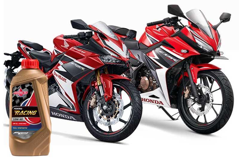 Pilihan Oli Yang Direkomendasikan Untuk Motor Sport Honda
