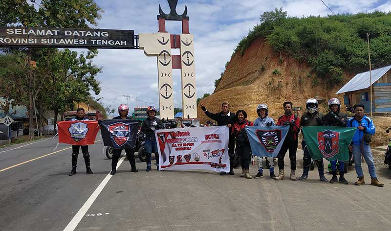 Begini Cara Komunitas X-riders Yamaha Indonesia Raya Kemerdekaan RI
