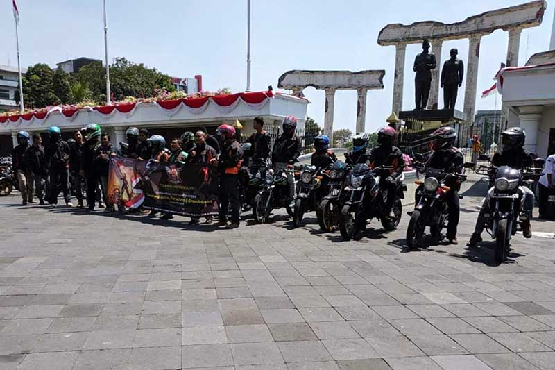 Eratkan Persatuan, HMPCI Gelar Touring Merdeka 2019