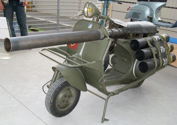Motor Yang Pernah Digunakan Saat Zaman Perang