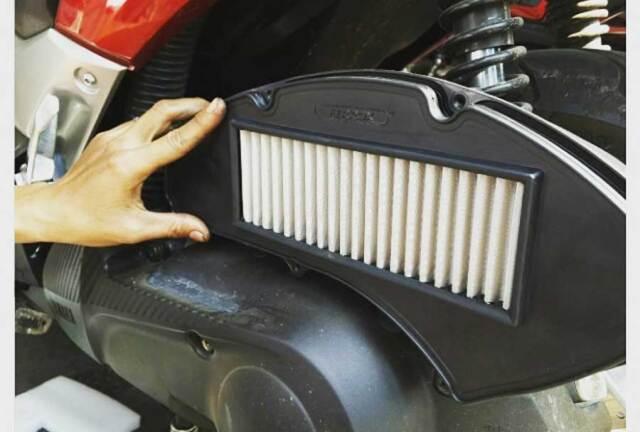 Cara Mudah Membersihkan Filter Udara Motor Matic