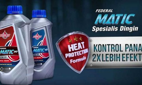 Ini Keunggulan Heat Protection Formula Pada Federal Oil