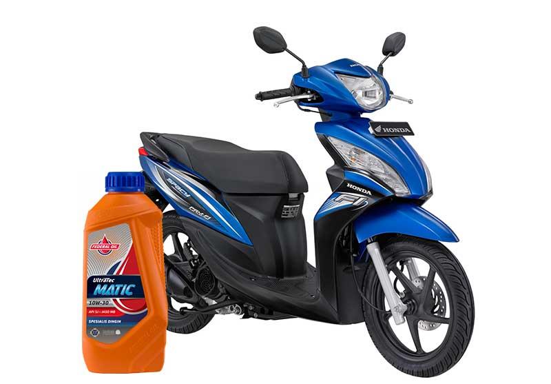 Rekomendasi Oli Terbaik Untuk Motor Honda Spacy Injeksi Dan Karburator