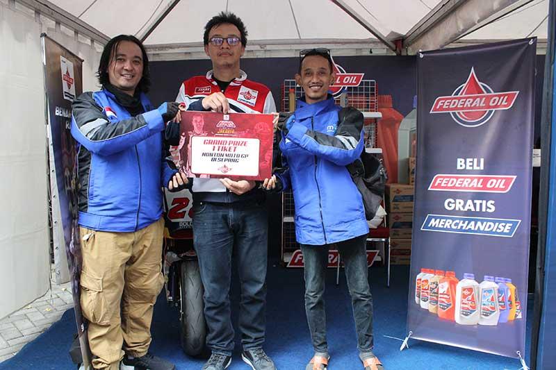 Inilah 3 Pemenang Undian Grand Prize Ketemu Sam Lowes di Jakarta