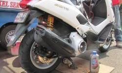 Sistem Kerja Pelumasan Motor Matic