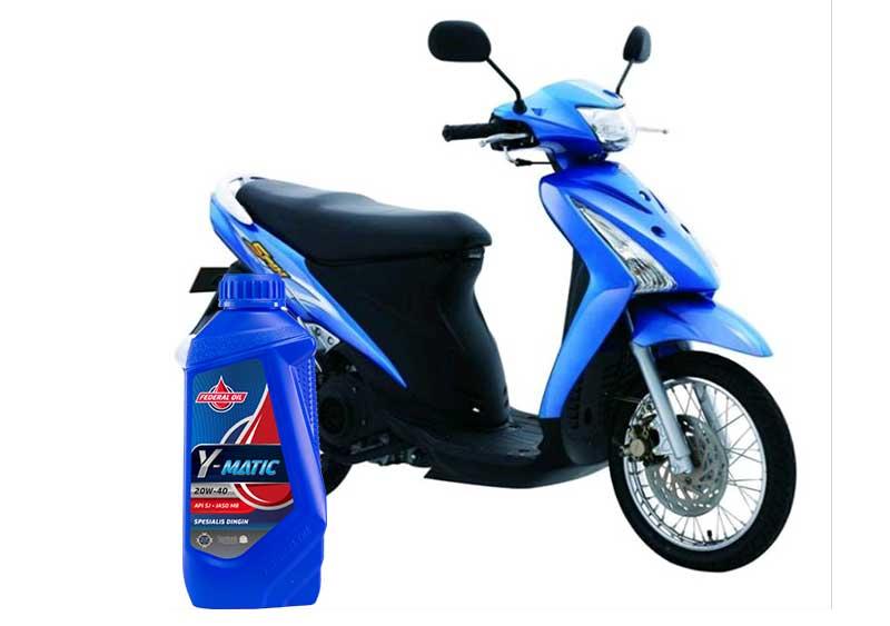 Federal Y-Matic Oli Motor Matic Untuk Suzuki Spin