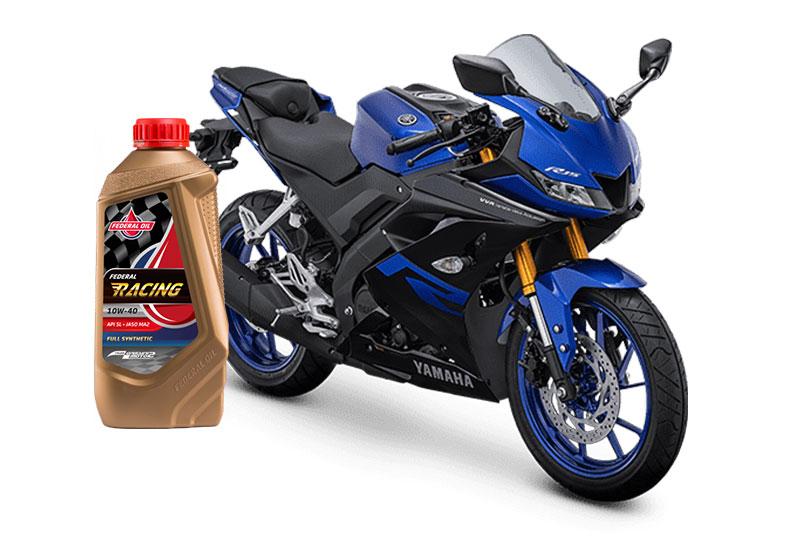 Oli Terbaik Yang Direkomendasikan Untuk Motor Yamaha R15 Pakai Federal Racing