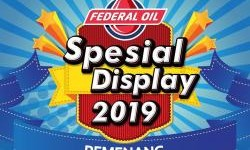 Ariss Motor Juara Nasional Federal Oil Spesial Display Contest 2019