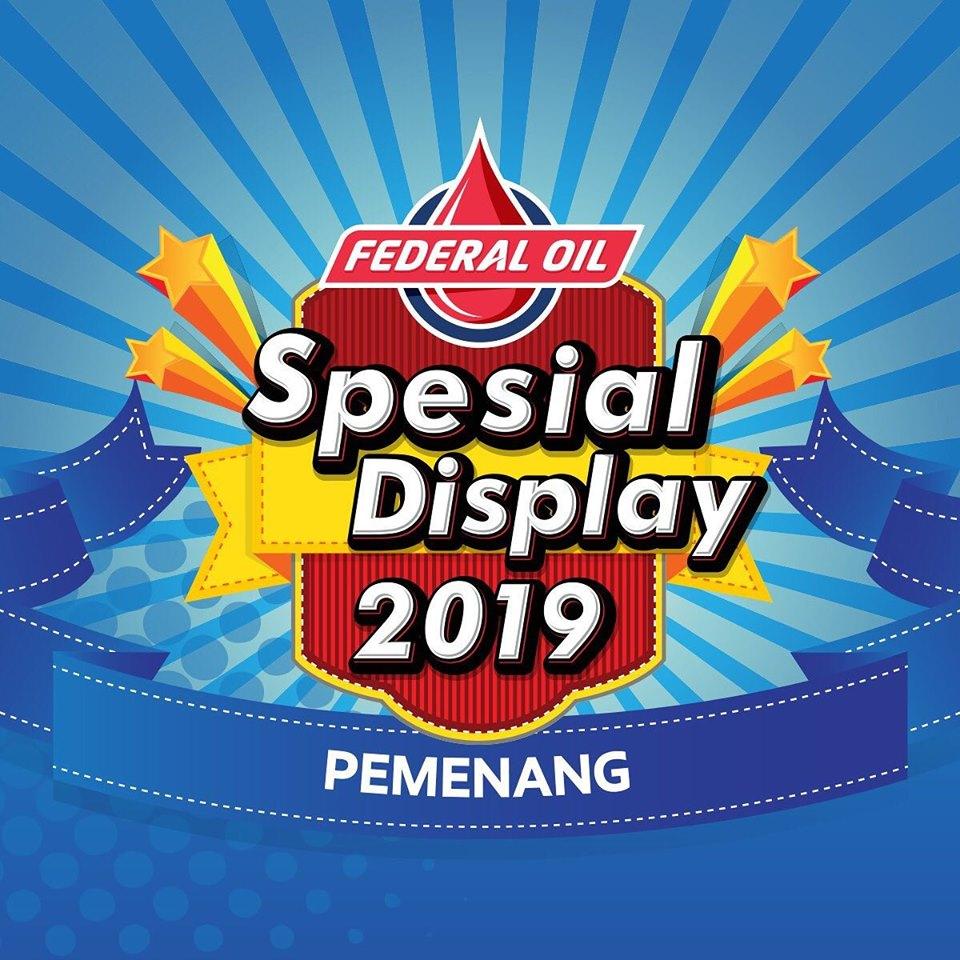 Ariss Motor Juara Nasional Federal Oil Spesial Display Contest 2019