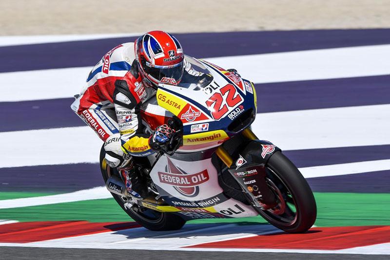 Lowes Raih Hasil Positif di Latihan Bebas Moto2 Misano
