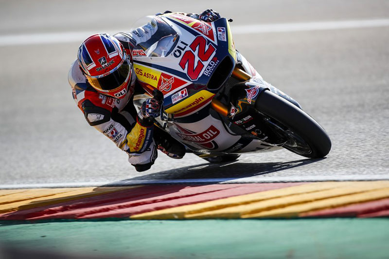 Sam Lowes Finish ke Lima di Moto2 Aragon 2019