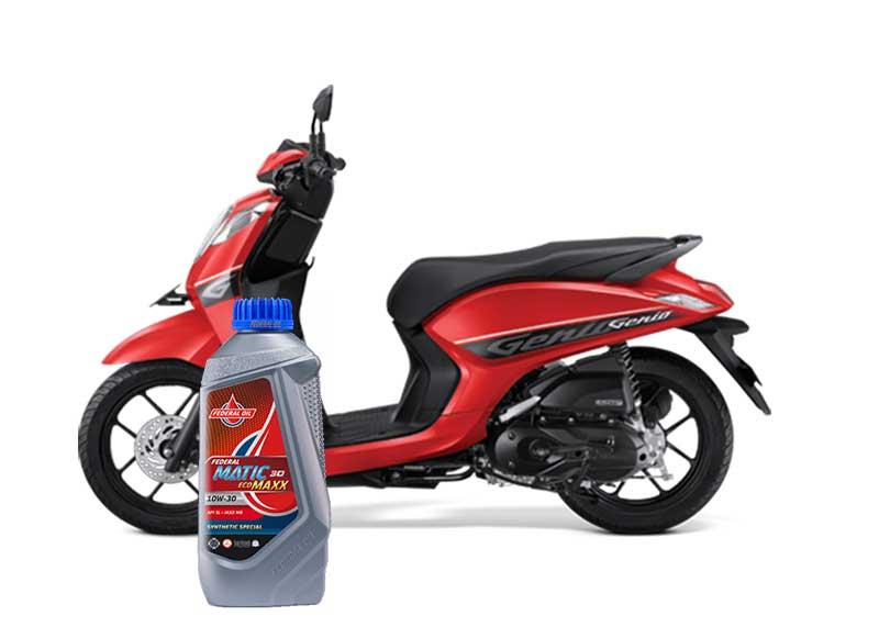 Pilihan Oli Terbaik Untuk Motor Honda Genio