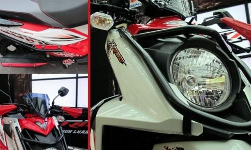 Aksesoris Resmi Yamaha X-Ride / foto Iotomotif.com