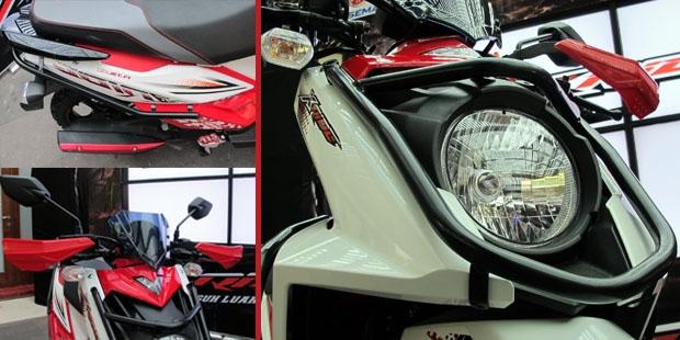 Bikin Tampilan Yamaha X-Ride Kamu Keren Dengan Aksesoris Resminya