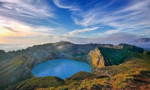 Danau Tiga Warna, sumber ig @kupangnet