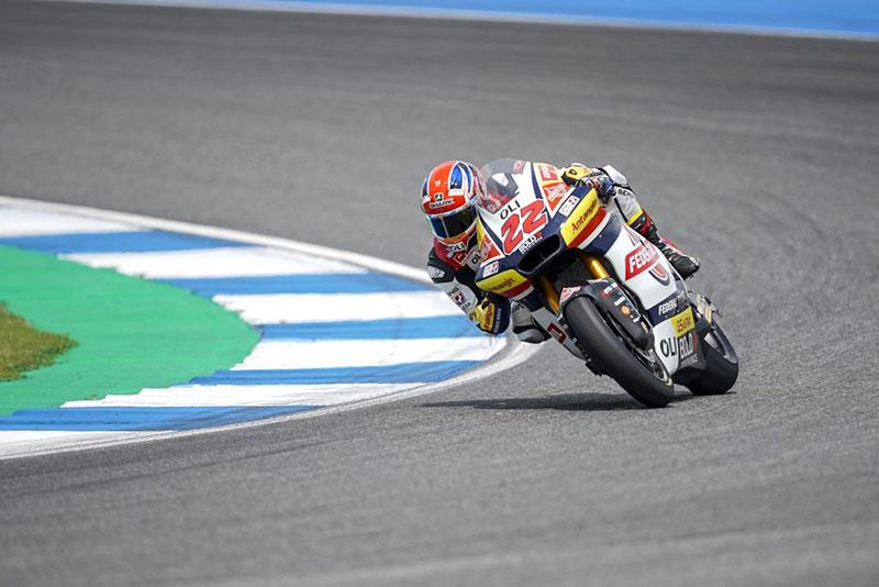 Panasnya Sirkuit Chang, Bikin Lowes Kehilangan Konstrasi di Latihan Bebas Moto2 Thailand