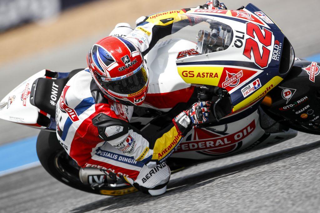 Salah Pakai Ban Depan, Sam Lowes Hilang Saat Balapan Moto2 Thailand