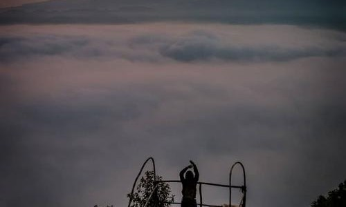 Negeri di Atas Awan / foto facebook Info Rangkas Bitung
