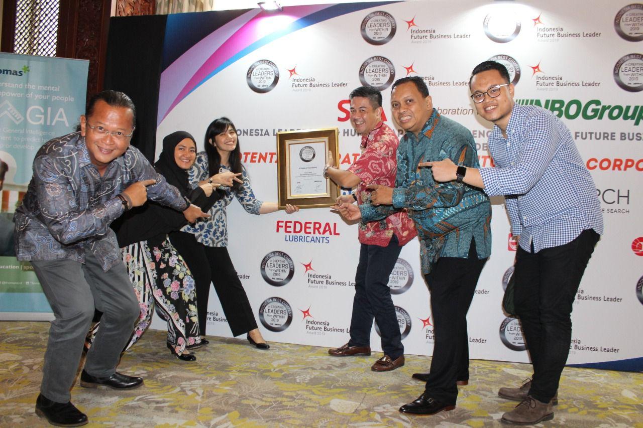 Raih Indonesia Best Company In Creating Leaders From Within, Seperti Ini Cara Federal Karyatama Mencetak Pemimpin Masa Depan