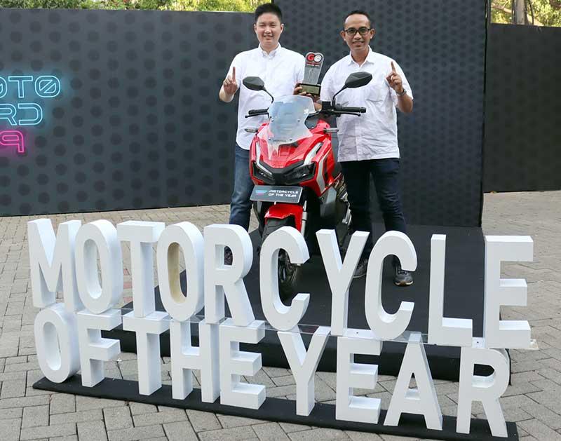 Honda ADV150 Raih Motorcycle of The Year