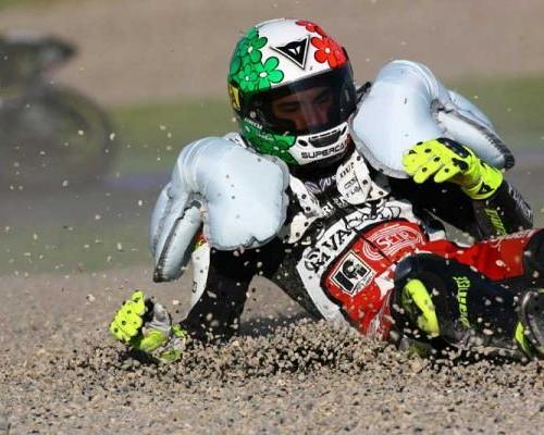 Canggihnya Fitur Airbag Pada Baju Balap MotoGP