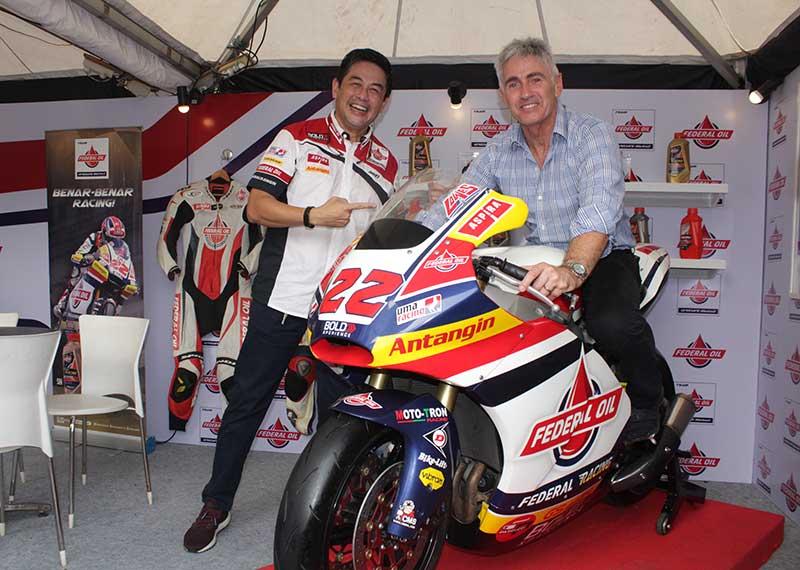 Pembalap Legend MotoGP, Mick Doohan Kepincut Motornya Federal Oil Gresini Moto2