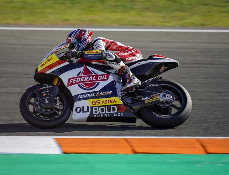 Latihan Bebas Moto2 Valencia, Sam Lowes Semakin Agresif