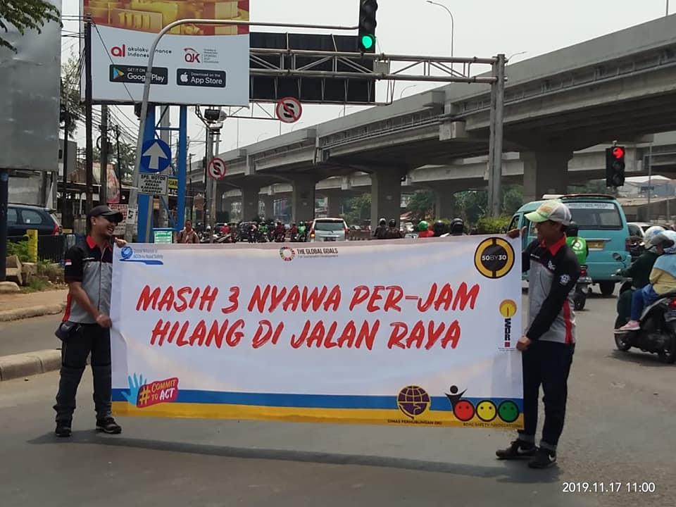 Pegiat Aksi Keselamatan Berkendara Ajak Masyarakat Disiplin Berlalulintas