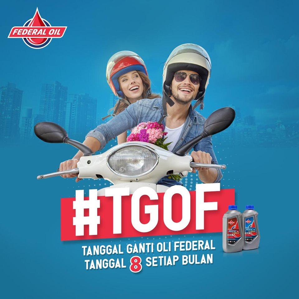 TGOF Spesial Akhir Tahun Berhadiah Jaket Federal Oil Gresini Moto2