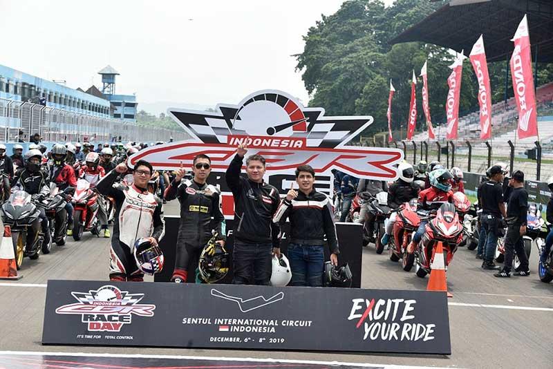Komunitas Honda CBR Ramaikan Seri Terakhir Indonesia CBR Race Day 2019