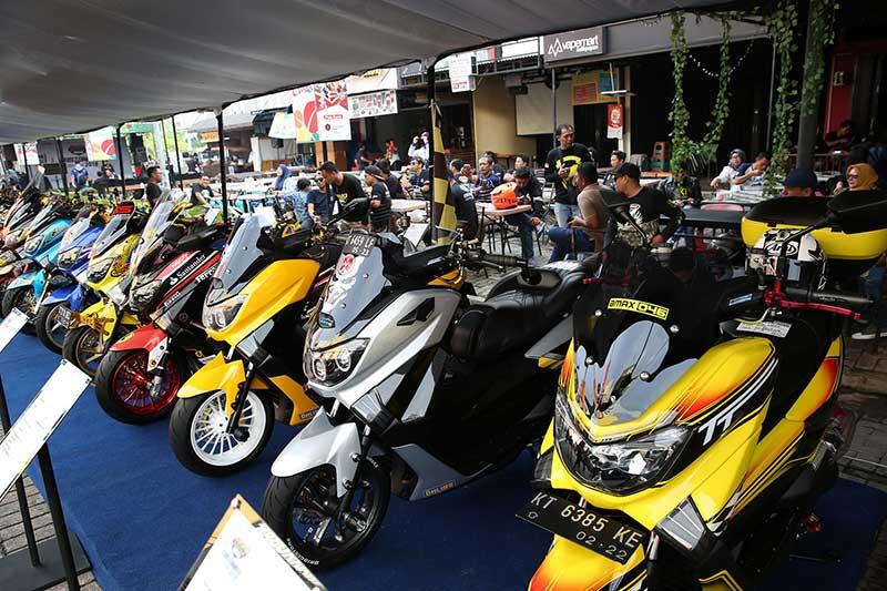 Suka Dan Jago Modifikasi, Ikutan Saja CustoMAXI Yamaha Heritage Built