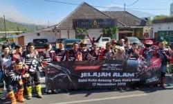 Serunya Komunitas Honda CRF150L Main Trabasan di Batu Malang