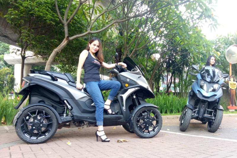 Sepeda Motor Roda Empat Qooder Resmi Dijual Di Indonesia