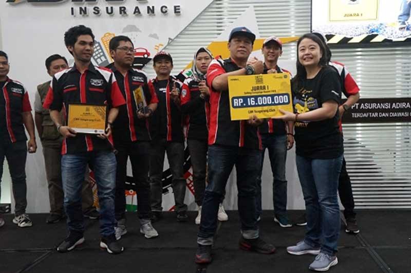 Komunitas Honda CBR Tangerang Juara IRSA 2019