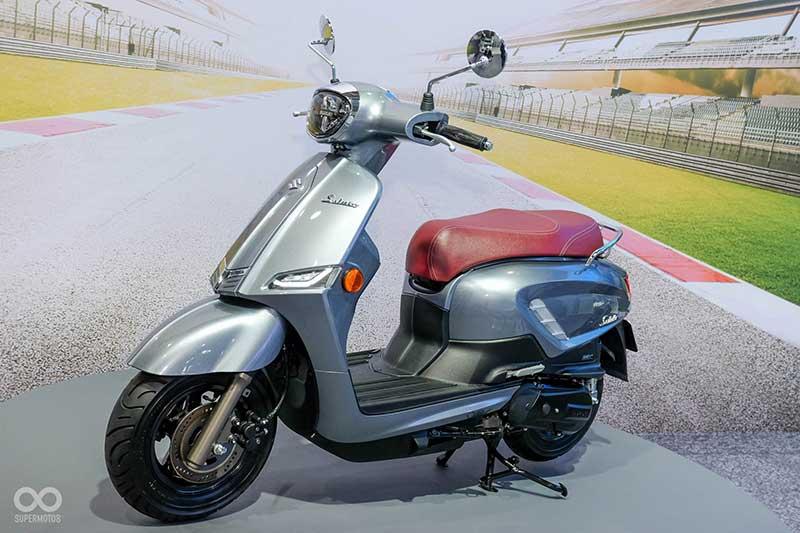 Suzuki Luncurkan Motor Matic Terbaru Suzuki Saluto