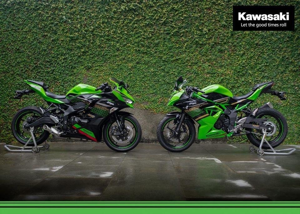 Kawasaki Ninja 250 4 Silinder Sudah Mendarat Di Indonesia, Berapa Harganya