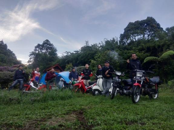 Wartawan Pecinta Motor Retro Bikin Komuntas Kwarto