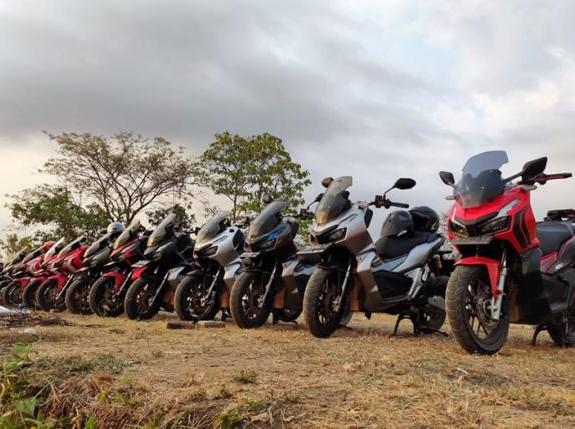Komunitas Honda ADV Lombok Resmi Dibentuk