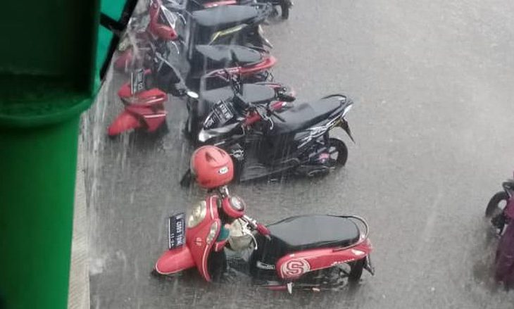 Motor Terendam Banjir Wajib Ganti Oli