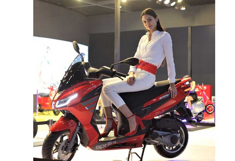Aprilia SXR 160 2020 Pesaing Baru Yamaha Nmax