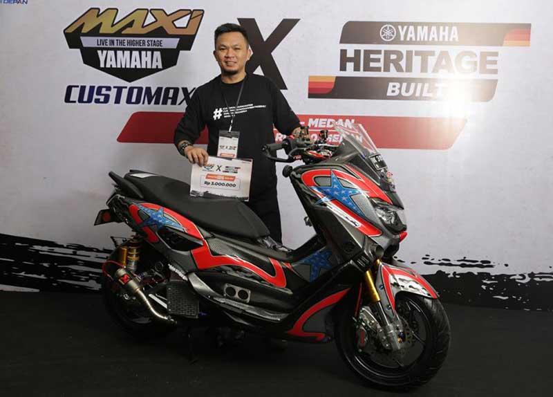 Customaxi X Yamaha Heritage Built Medan Usai Digelar , Ini Daftar Finalisnya