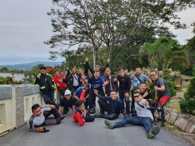 Serunya Komunitas Honda Big Bike Touring ke Bangka