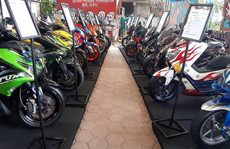 Pecinta Motor Custom Yuk Ikutan Customaxi di Medan Ada Kelas Baru