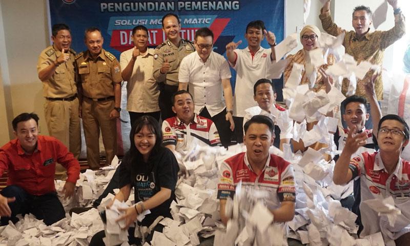 Ribuan Warga Sumatera Selatan & Sekitarnya Antusias Membeli Federal Matic