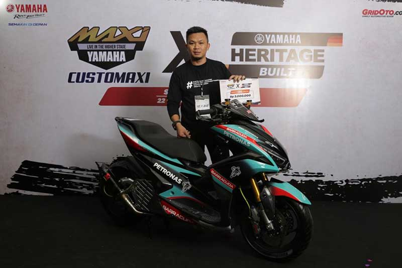 Daftar Finalis Digital Custom All New NMAX 155 Periode Januari