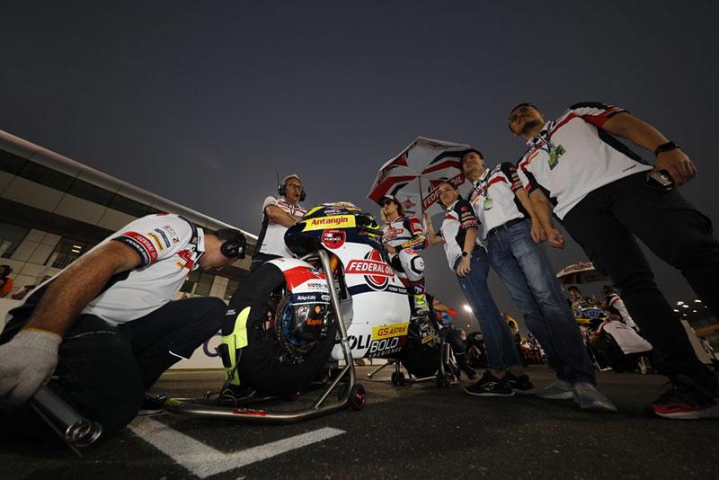 Hasil Moto2 Qatar 2020: Masalah Pada Elektronik Dan Ban, Pembalap Federal Oil Kehilangan Poin