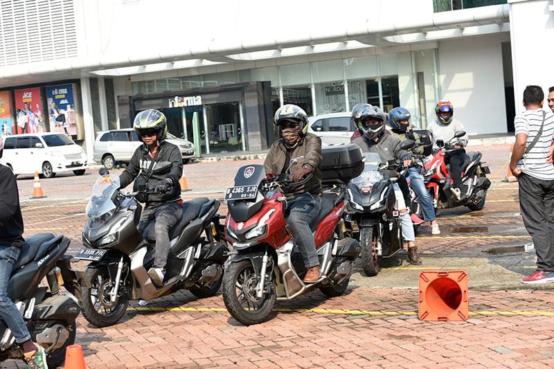 Keseruan Komunitas Honda Di Acara Honda Premium Matic Day 2020