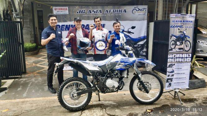 Konsumen Pertama Yamaha WR155 Akhirnya Terima Unit Setelah Lama Menunggu