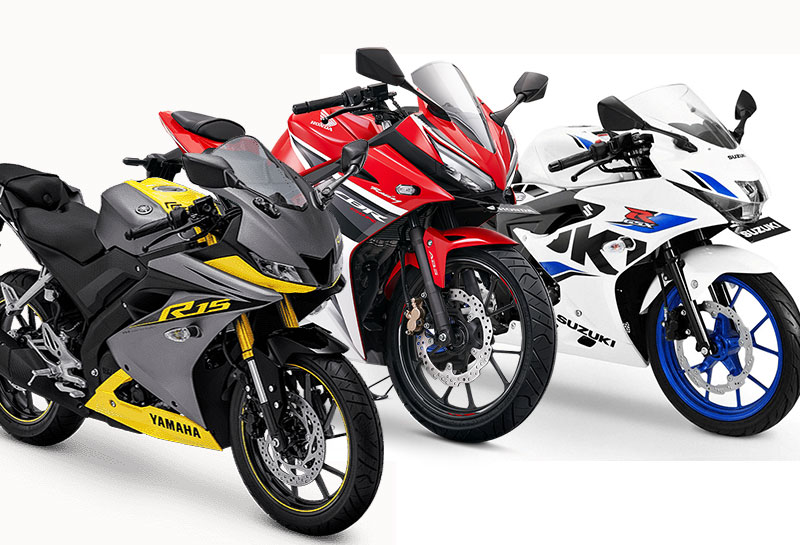 Update Harga Terbaru Motor Sport 150cc Full Fairing, Honda CBR150R Tembus Rp40 Juta